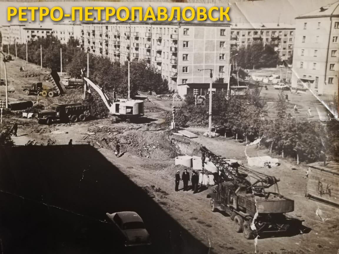 Супер-фото Петропавловска 1970-х: где эта улица?
