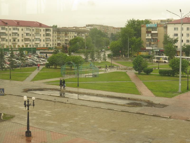 Бардак на привокзальной площади Петропавловска