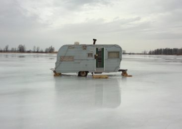 На севере Казахстана утонули  два рыбака