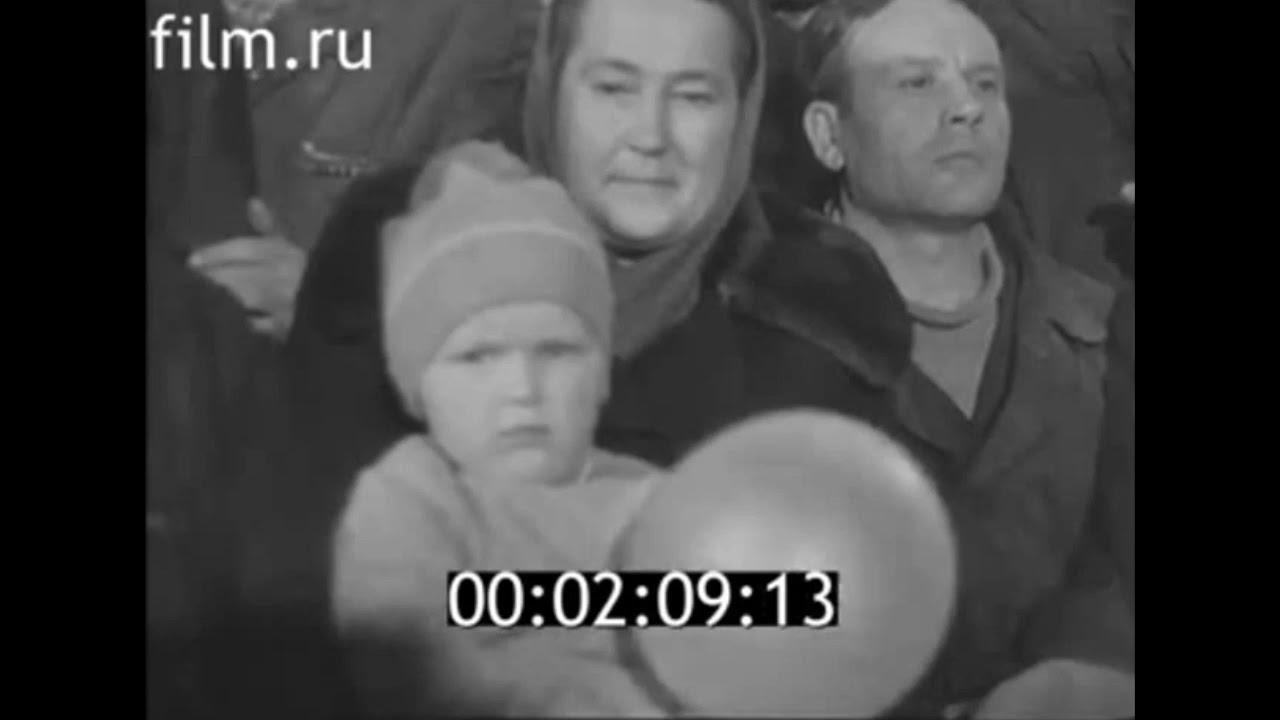 Космонавт Владимир Шаталов в Петропавловске (кинохроника 1969)