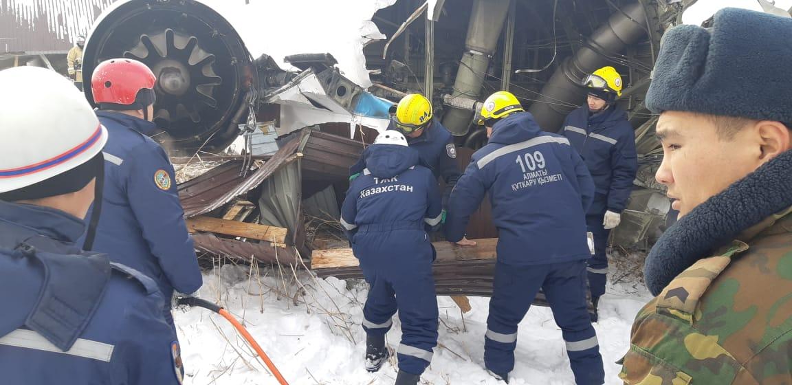 День траура в связи с падением самолета в Алматы — 28 декабря
