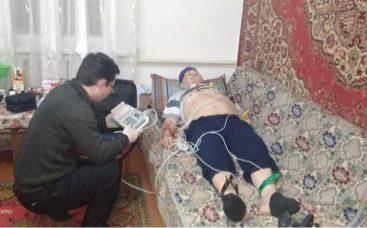 На севере Казахстана врачи не могли добраться к больному из-за непогоды