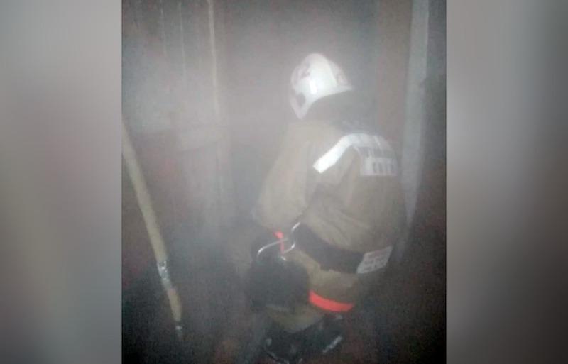 Спасенные жители Петропавловска поблагодарили пожарных