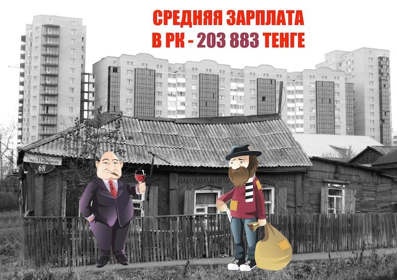 Средняя зарплата на севере Казахстана — 141 000, ощущается как 41 000