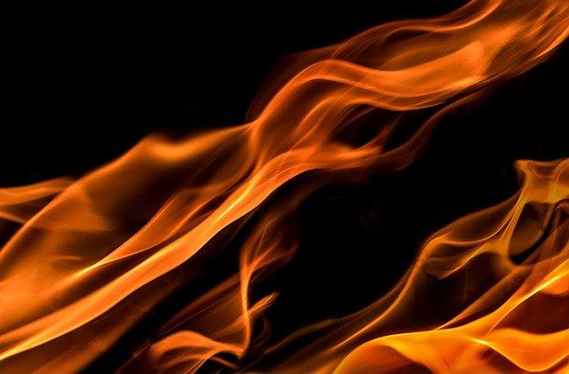 В Петропавловске горел ресторан «Брезель»