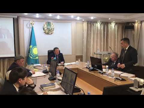Аксакалов Жумабекову: «Отчёт бодрый, а снега на улицах много!»