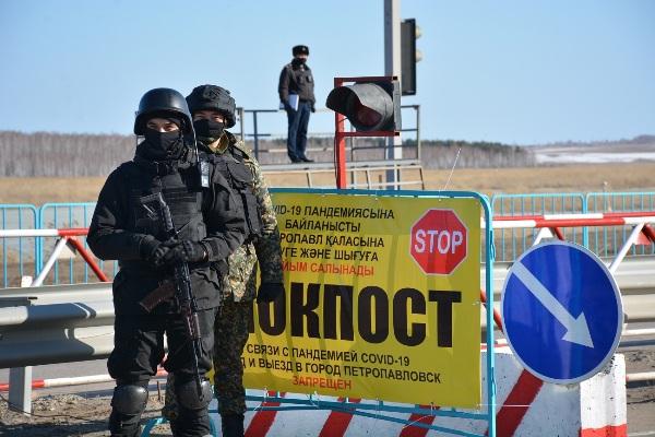 Жителям Петропавловска грозит штраф либо арест на 15 суток за нарушение режима ЧП