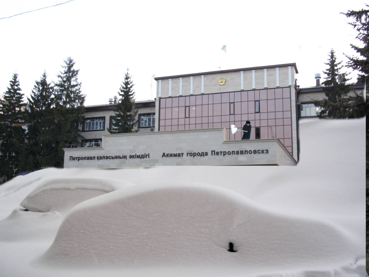 Снежные кубометры акима Петропавловска