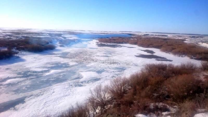 На гидроузлах в Сергеевке и в Петропавловске создают свободные объемы