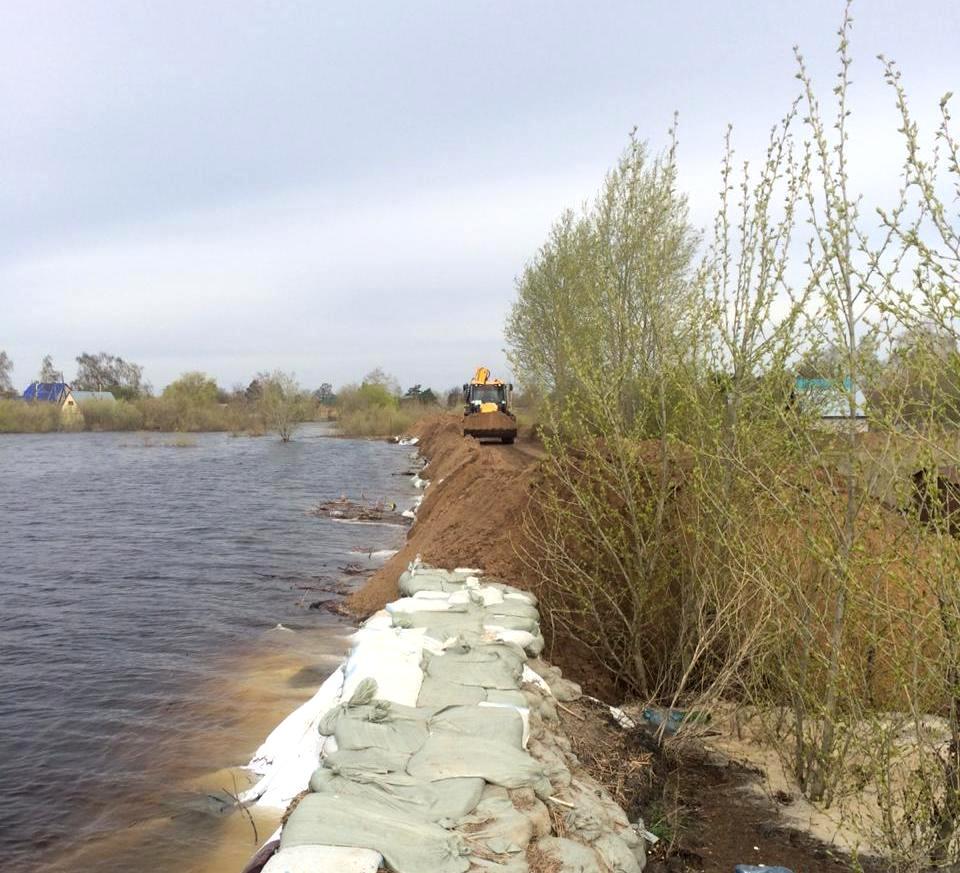 Паводок — 2020: большая вода отступает на севере Казахстана