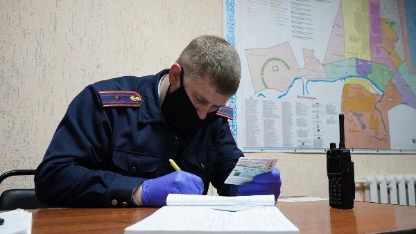 За нахождение  в общественном месте без особой надобности оштрафовали 58 североказахстанцев