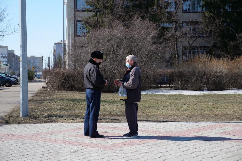 В Петропавловске штрафуют жителей за необоснованный выход из дома