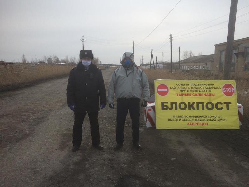Кто сможет проезжать через блокпосты в Петропавловске