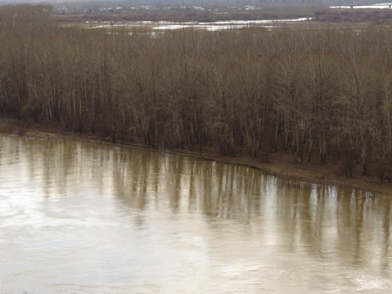 Паводок замочит край Заречного поселка в Петропавловске