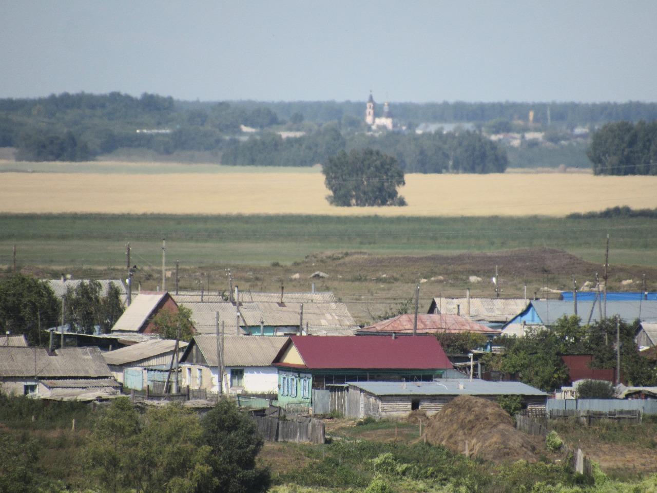 Деревни Северного Казахстана: Архангельское и Новокаменка