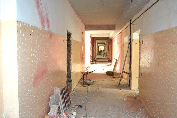 В Петропавловске могут не успеть вовремя отремонтировать больницу
