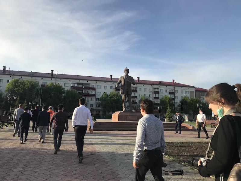В Петропавловске начинают реконструкцию привокзальной площади