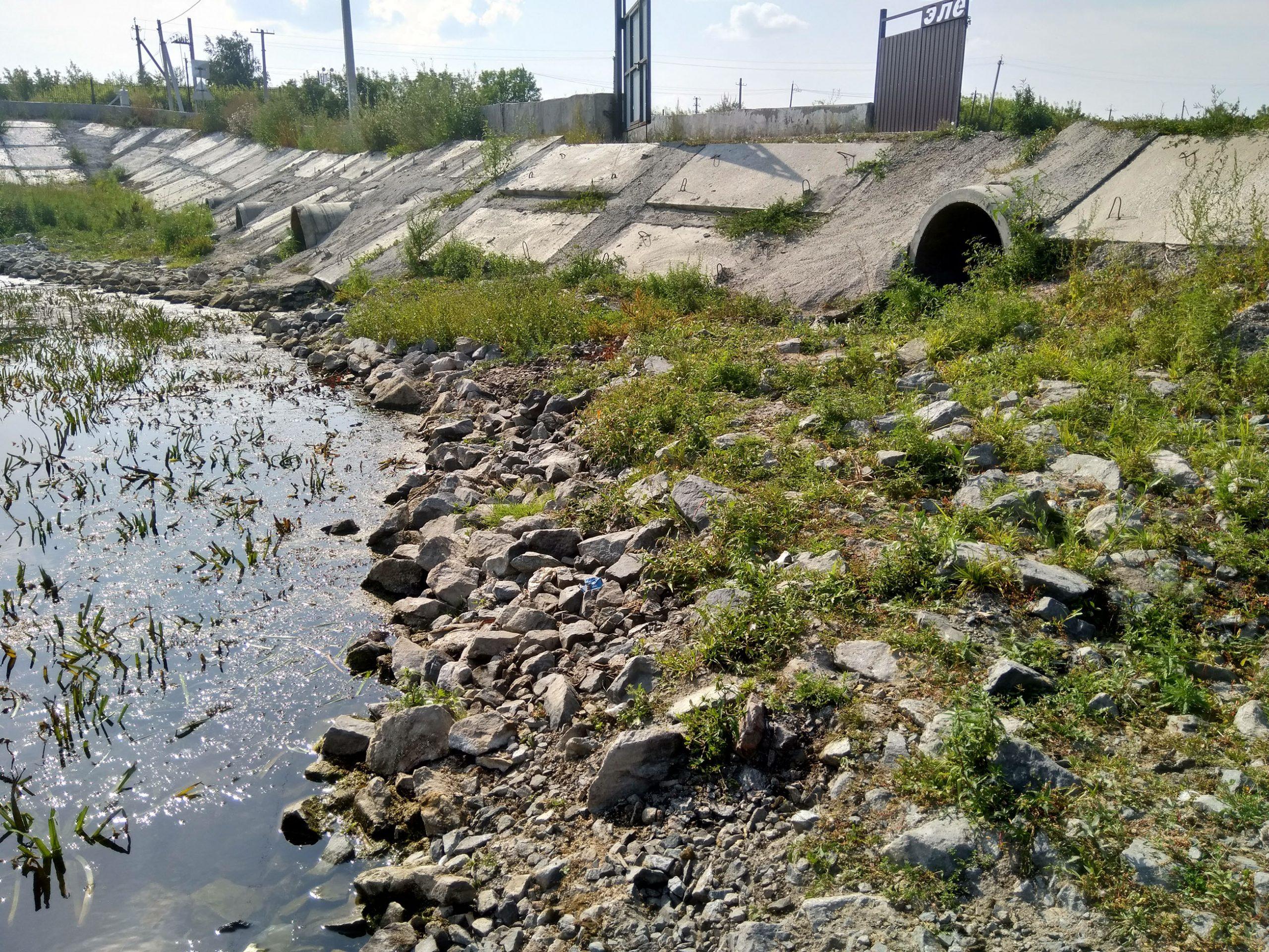 Дачники Петропавловска жалуются на дамбу вокруг Хромзавода