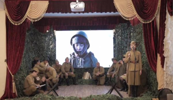 Полицейские впервые спели для североказахстанцев онлайн