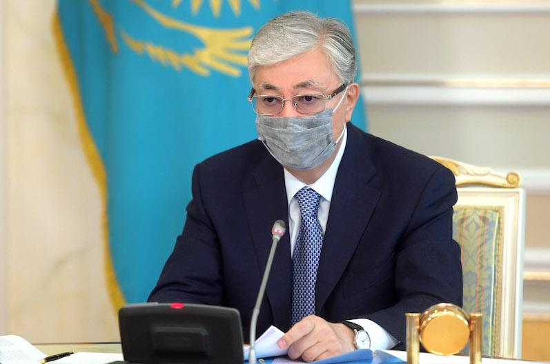 Токаев заявил о необходимости повторного жёсткого карантина в Казахстане
