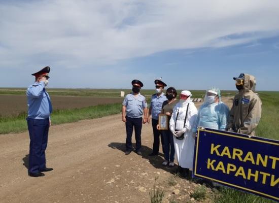 На севере Казахстана прекратили работу 11 блокпостов