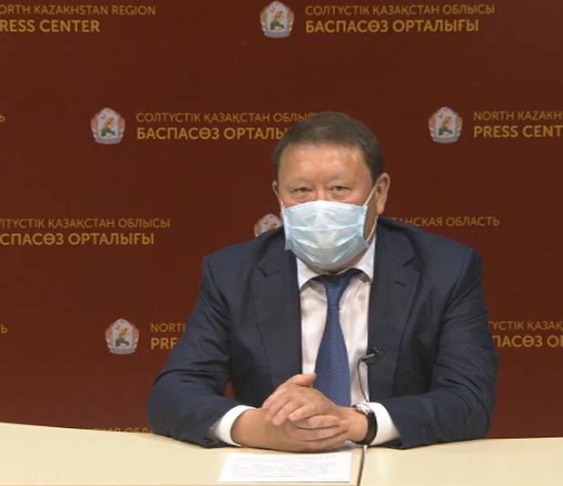 Дефицит медицинского оборудования прокомментировал аким Северо-Казахстанской области