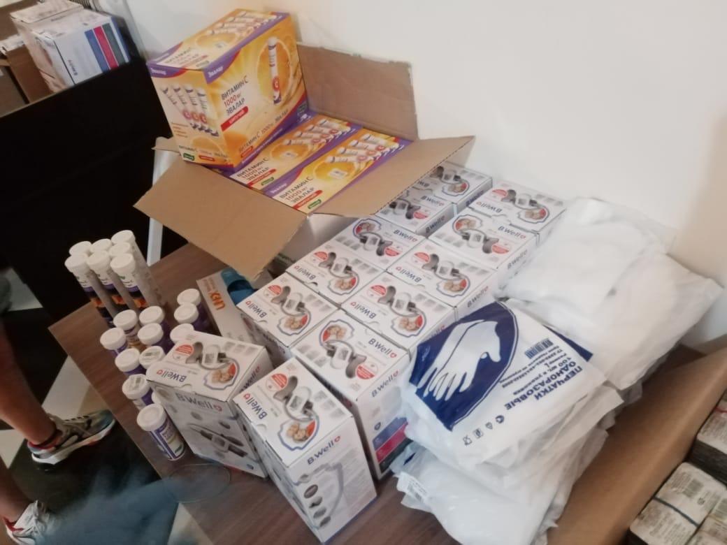 «Добро-Соседство»: В Петропавловск для борьбы с коронавирусом доставили гуманитарную помощь  из России