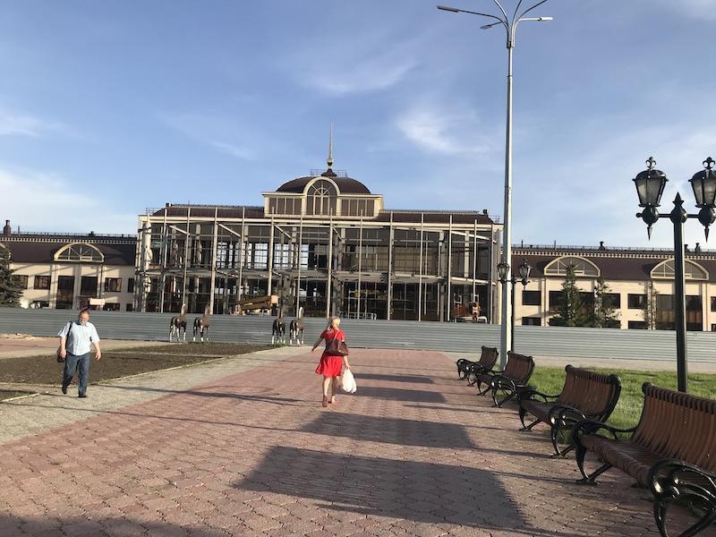 На железнодорожном вокзале Петропавловска частично завершили реконструкцию