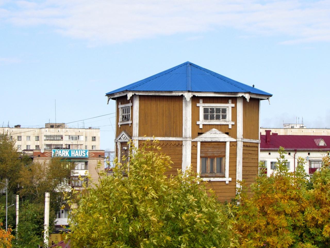 В Петропавловске отремонтируют водонапорную башню возле вокзала