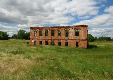 Монастырские развалины в Северном Казахстане