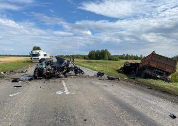 На трассе в Северо-Казахстанской области погибли двое мужчин