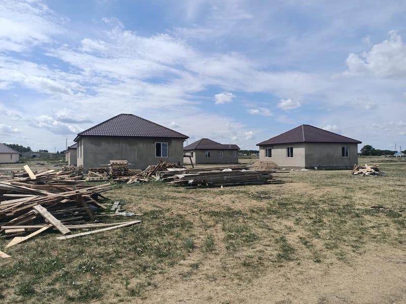 В селе на севере Казахстана акимат закупает 15 новых домов