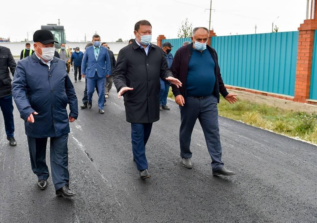 В райцентре на Севере Казахстана строят 50 новых домов