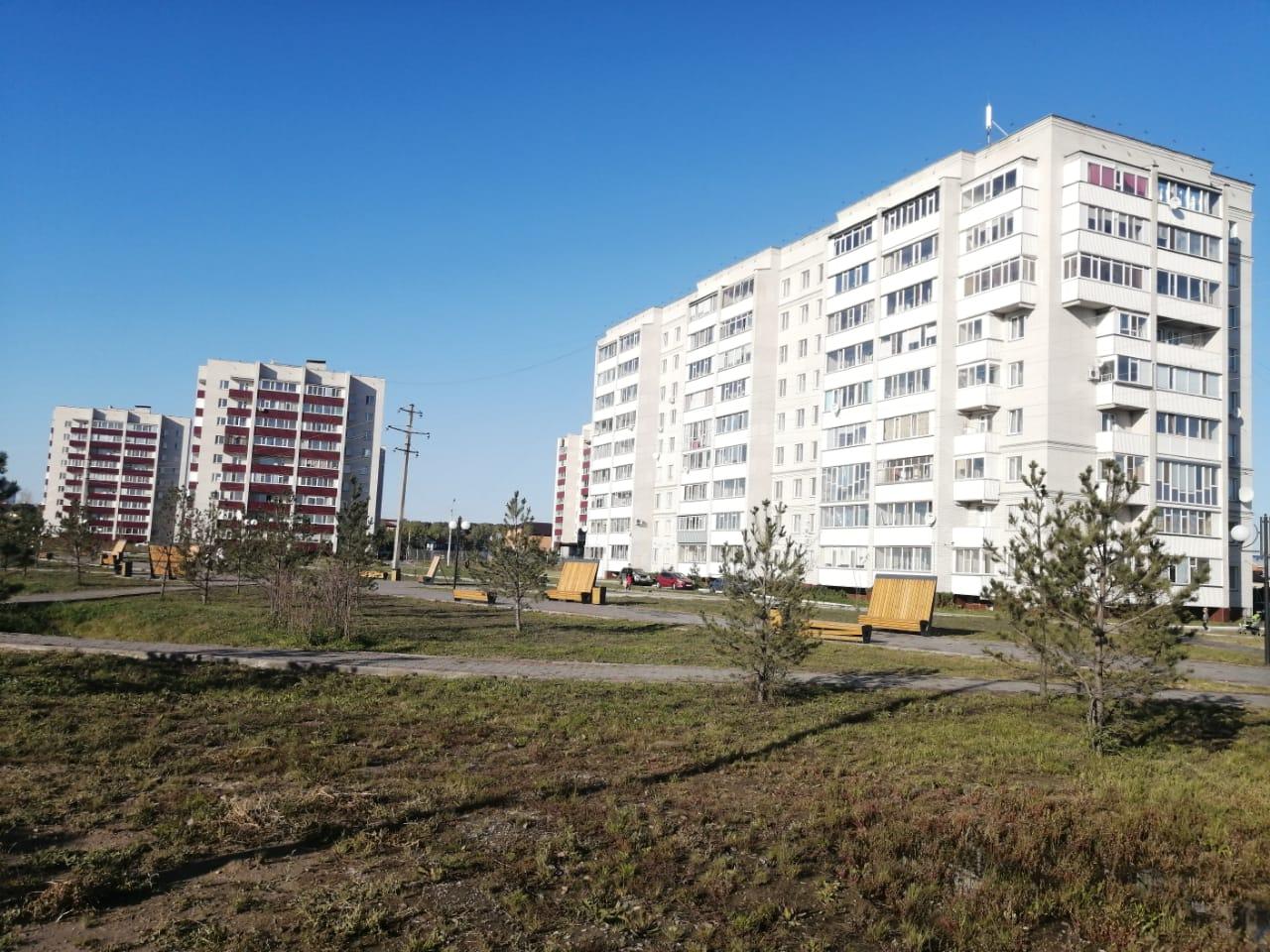 В Петропавловске болото поглощает многоэтажку