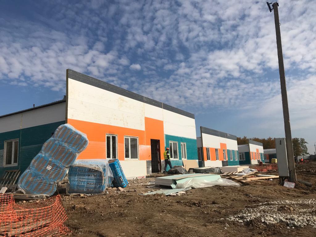 Новую инфекционную больницу построили на севере Казахстана из-за COVID-19
