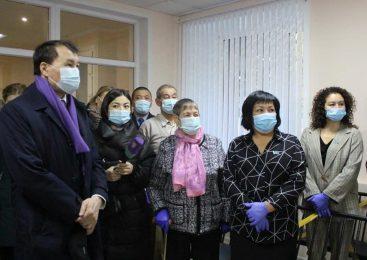 Глава антикоррупционного ведомства приехал в Кызылжарский район