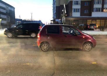 В Петропавловске 50-летнюю женщину сбила машина на пешеходном переходе