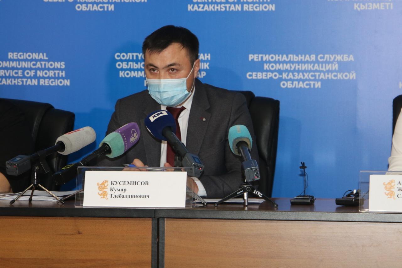 Инфекционные стационары на севере Казахстана пока полупустые — облздрав