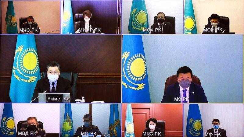 Кумар Аксакалов доложил Премьеру о ситуации с коронавирусом в Петропавловске