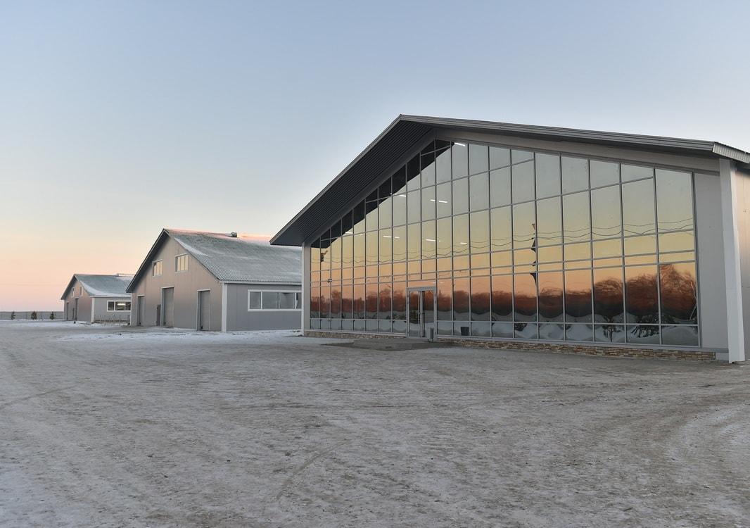 Иван Зенченко построил новую ферму в Кызылжарском районе