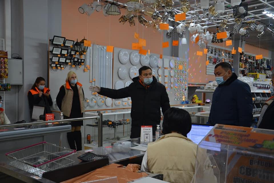 В Бесколе открылся новый строительный магазин