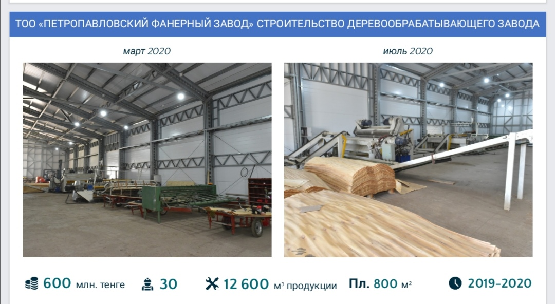 В Петропавловске реанимировали старый завод