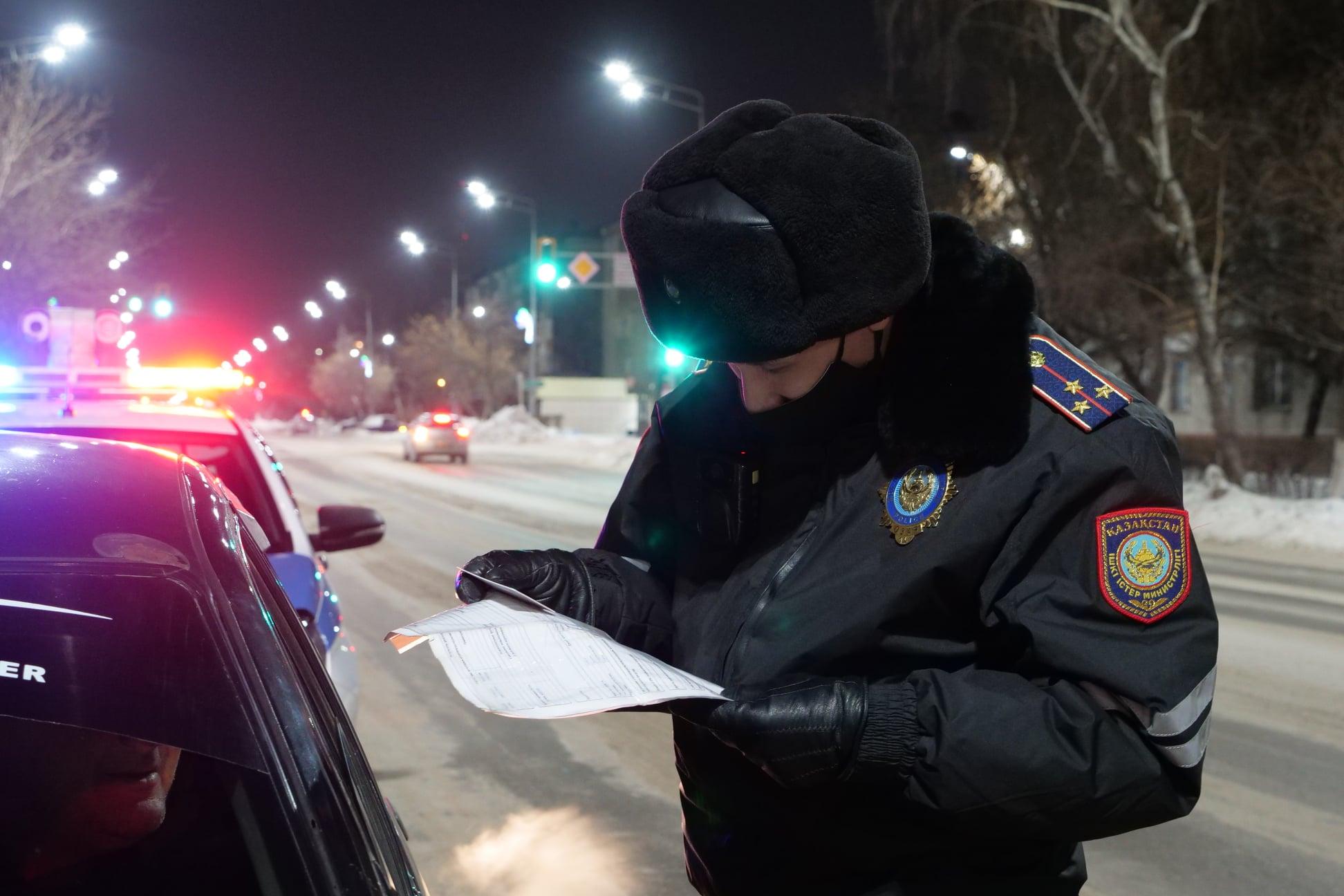 В Петропавловске водитель «под кайфом» лишен прав на 7 лет
