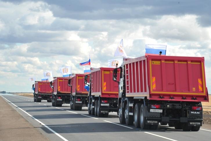 В Омской области построили дорогу в объезд Северного Казахстана