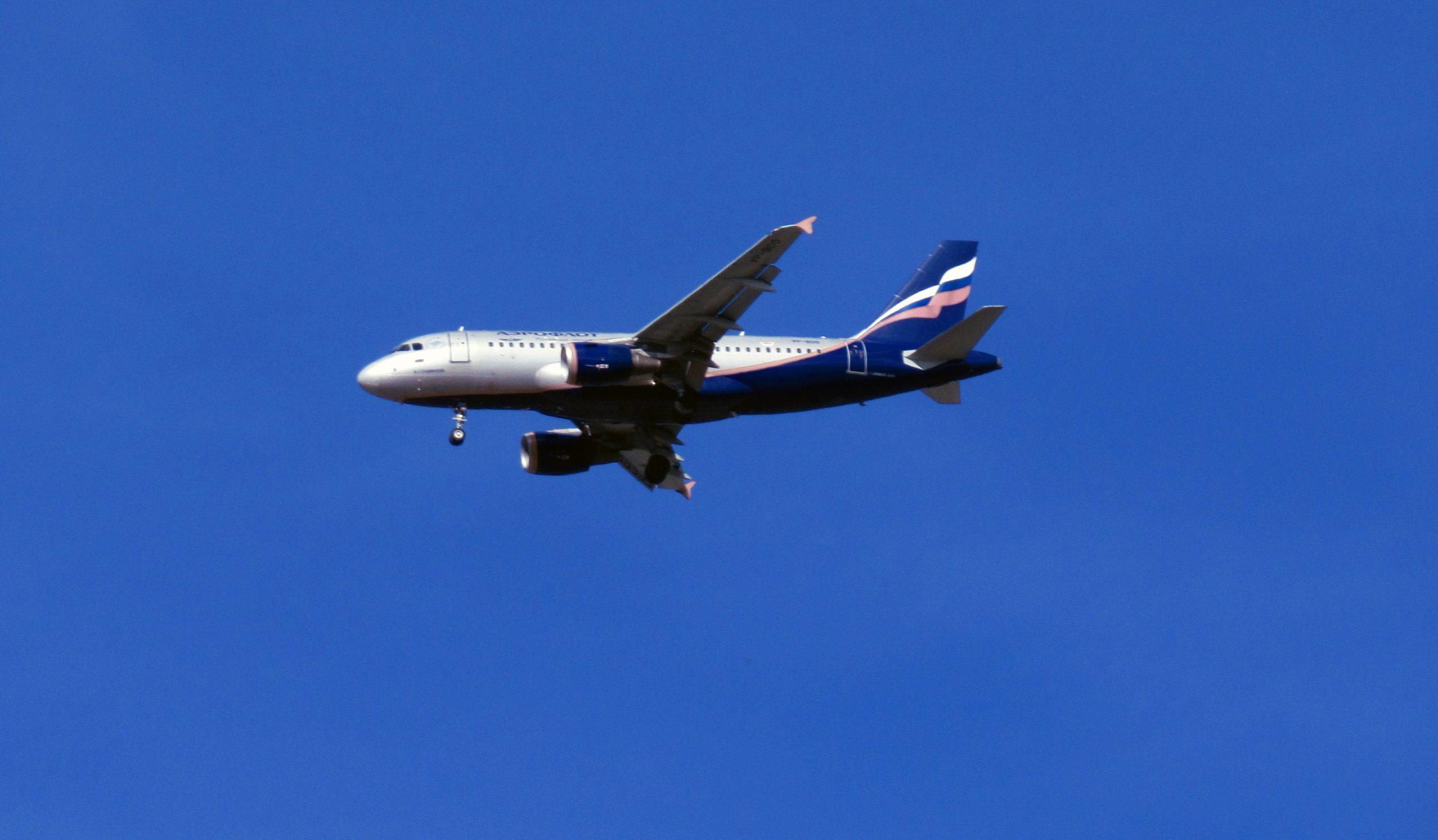 Россия возобновляет авиасообщение с 4 странами с 27 января