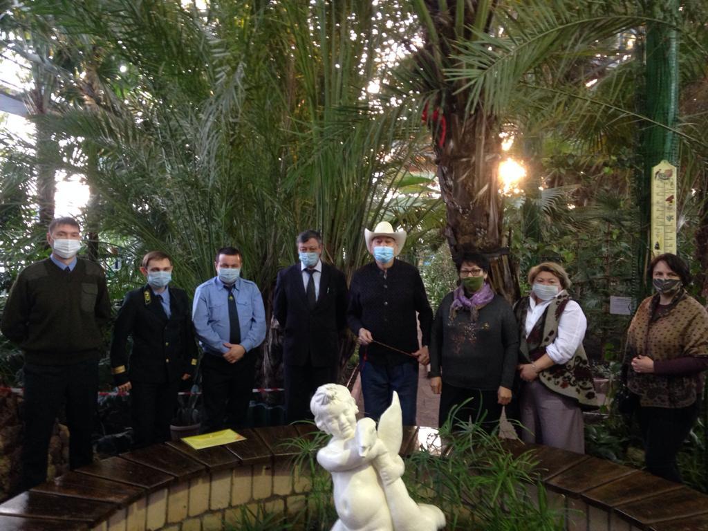 К спасению Ботанического сада Петропавловска подключилось министерство экологии