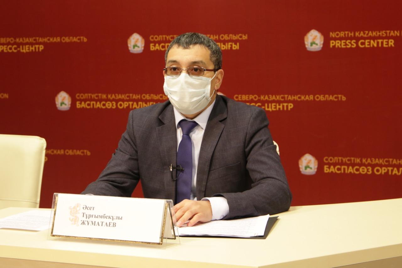 Локдаун выходного дня объяснил главный санитарный врач Северо-Казахстанской области
