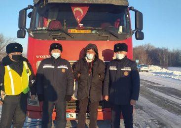 Дальнобойщик из Турции поразился поведению полицейских Петропавловска