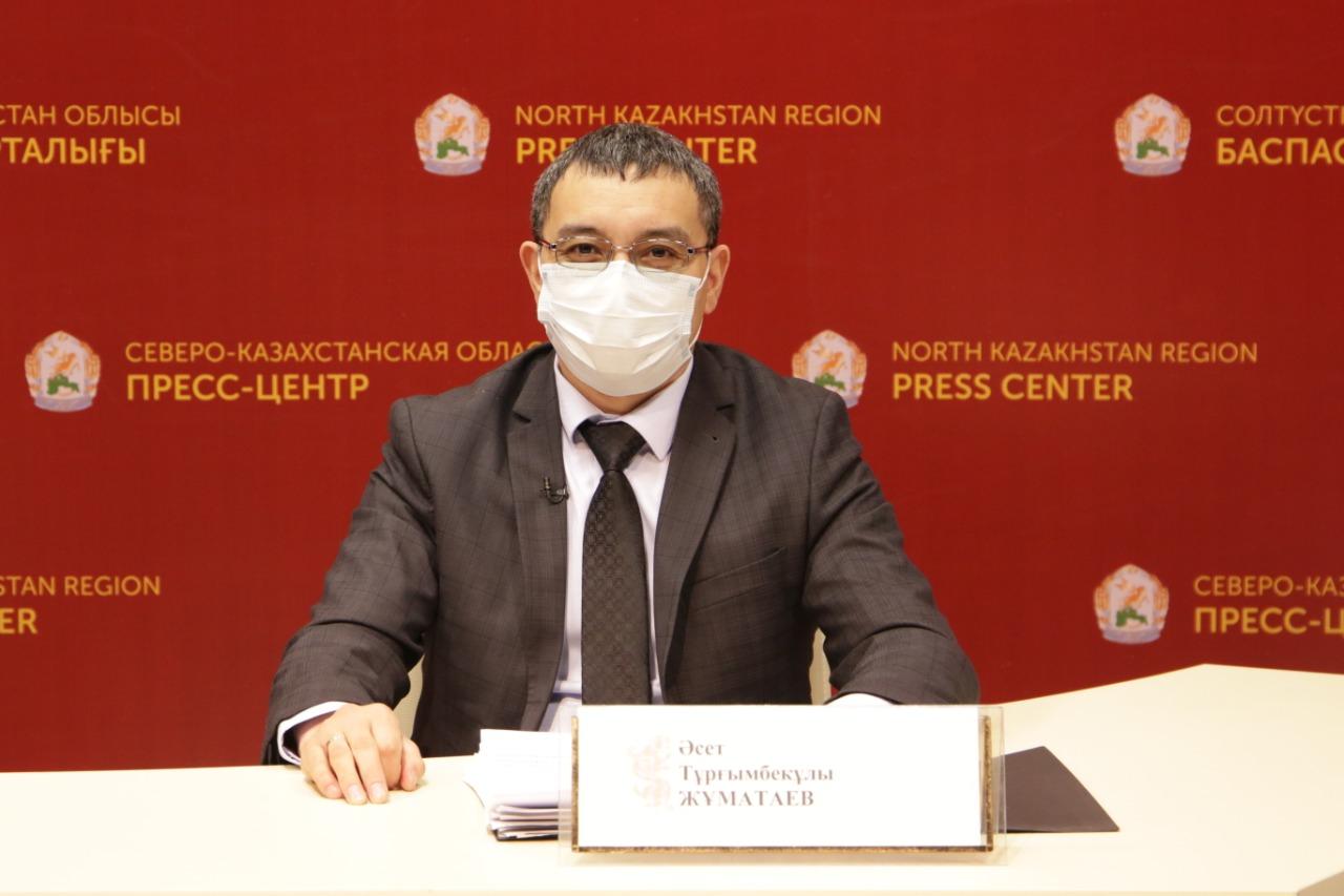 Главный санитарный врач поблагодарил североказахстанцев за терпение