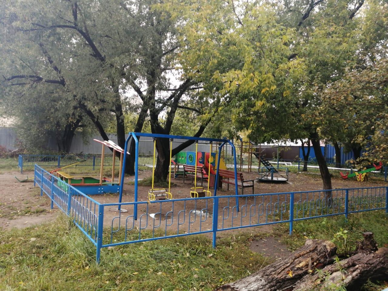 В Петропавловске предложили демонтировать детские площадки